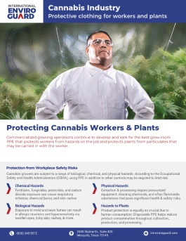 Cannabis Industry PPE