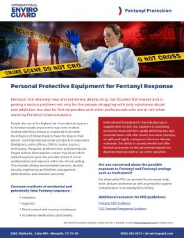 Fentanyl Reponse PPE