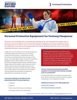 Fentanyl Response PPE