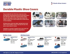 Durable Plastic Shoe Covers