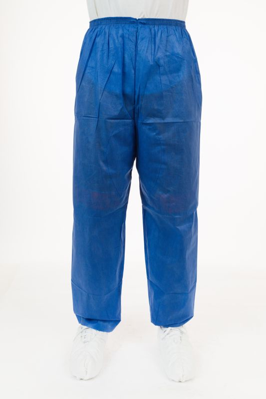 6ce025a26fb Soft Scrubs™, Denim Blue Soft Scrub Pants, Wide Elastic Waist, Open Ankle