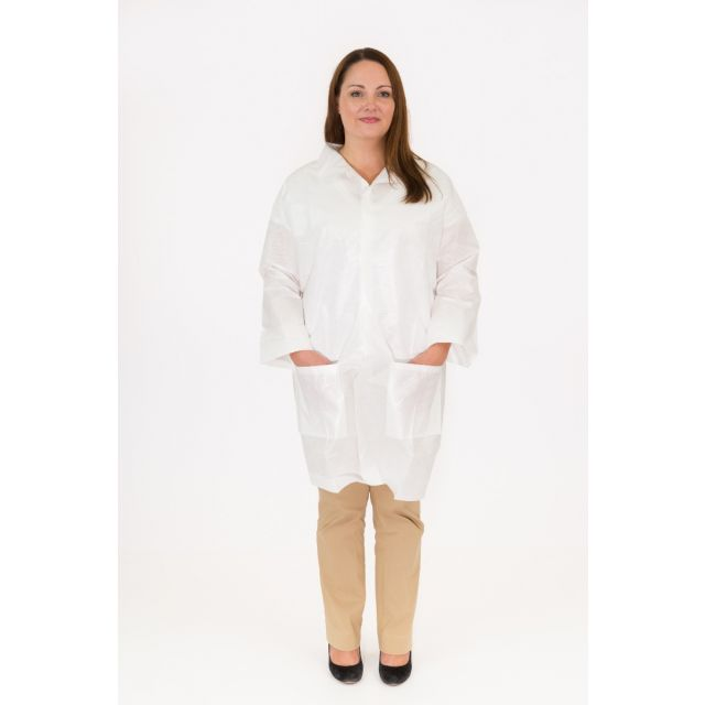 International Enviroguard Body Filter 95+® 4025NE Lab Coat
