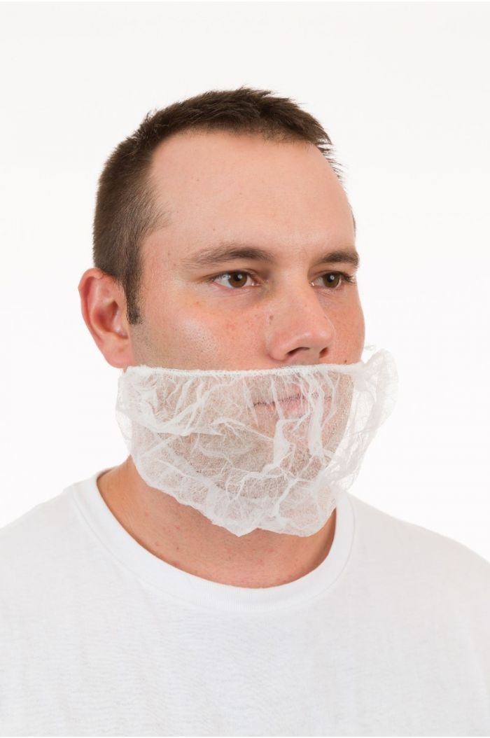 International Enviroguard Polypropylene 112NWBLF Beard Cover