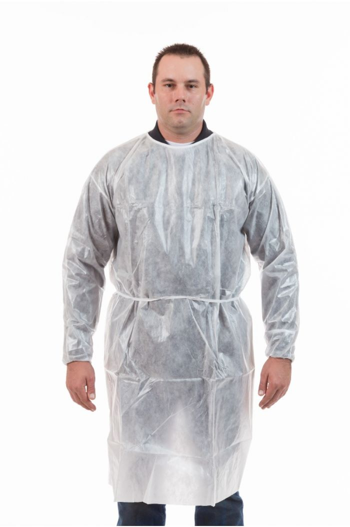 International Enviroguard PE Coated 2135 Gown