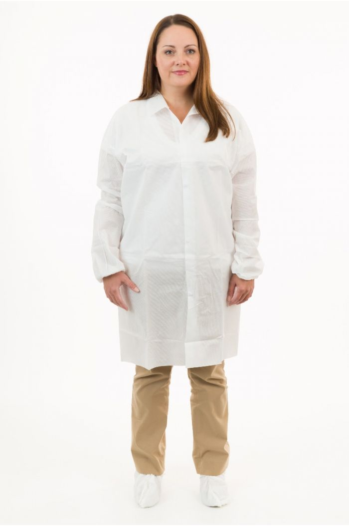 International Enviroguard SMS 2226 Lab Coat