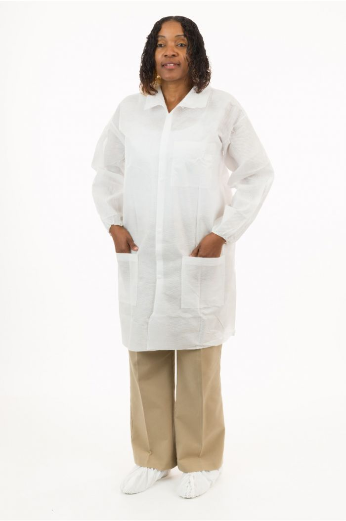 International Enviroguard SMS 2227 Lab Coat