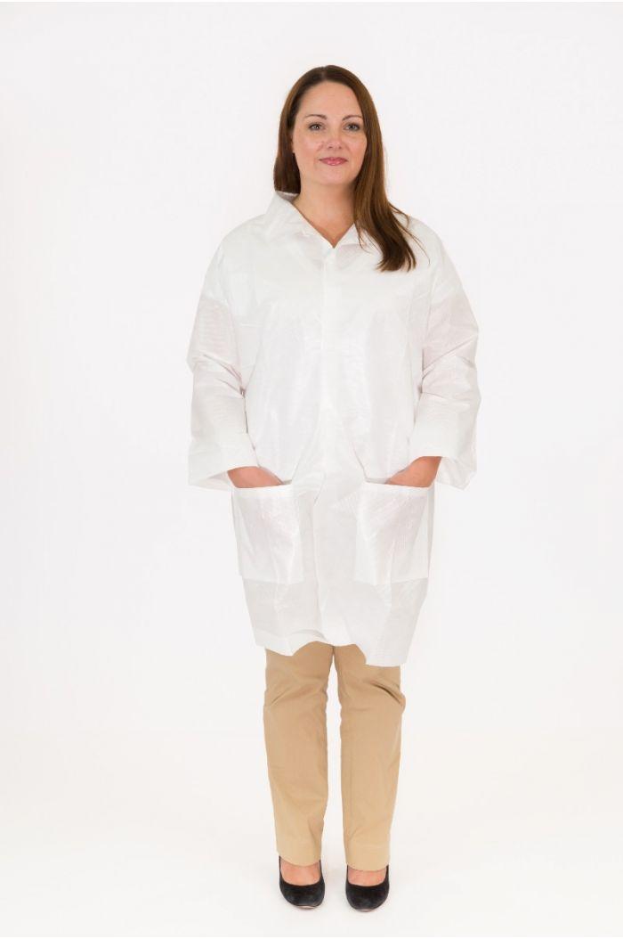 International Enviroguard Body Filter 95+® 4025NE Lab Coat