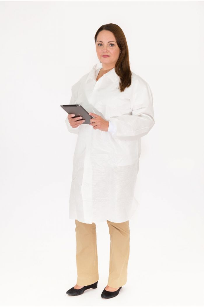 International Enviroguard Body Filter 95+® 4026KW Lab Coat