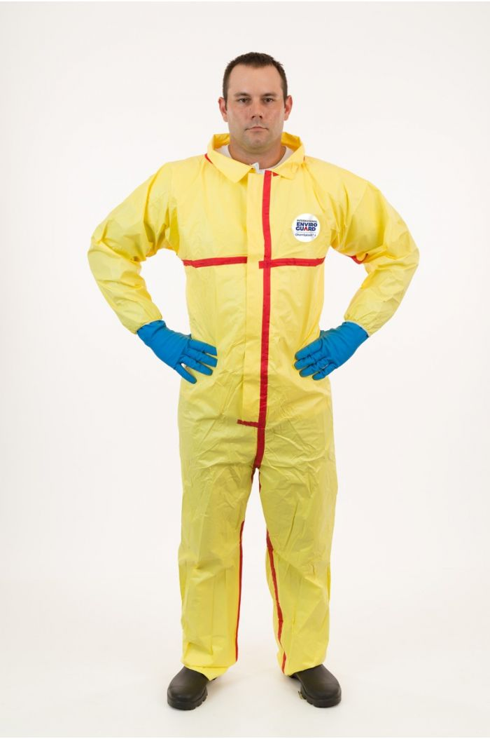 International Enviroguard ChemSplash® 1 7012YT Coverall