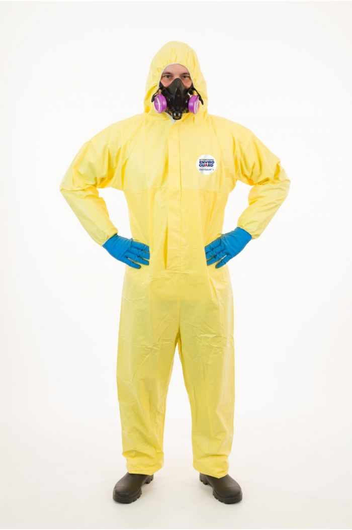 International Enviroguard ChemSplash® 1 7015YS Coverall