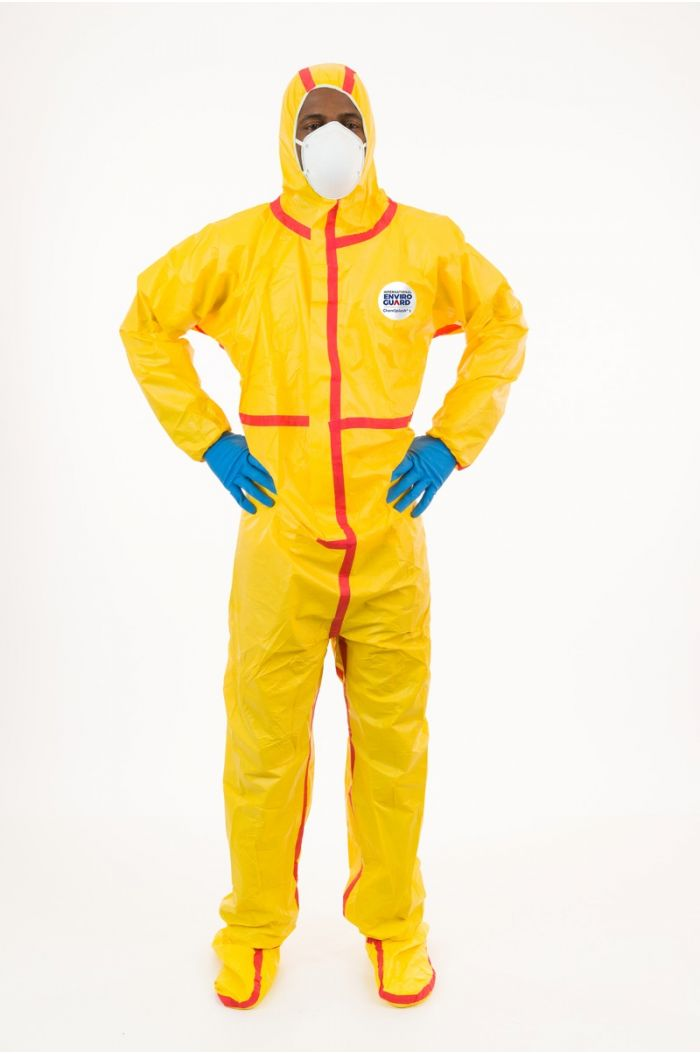 International Enviroguard ChemSplash® 1 7019YT Coverall