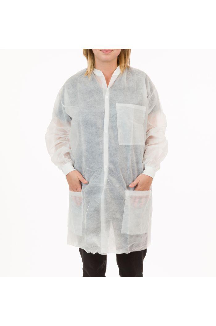 International Enviroguard Polypropylene K2025 Lab Coat