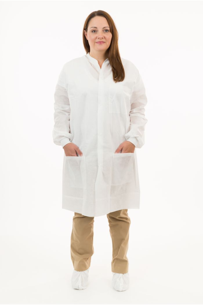 International Enviroguard SMS K2228 Lab Coat