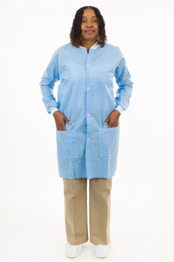International Enviroguard SMS K2228B Lab Coat