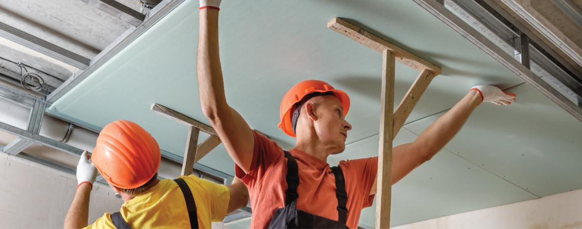 Employing Best Safety Practices Can Avoid Hazards Associated with Drywall Installation