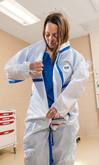 Disposable Protective Clothing   Infectious Disease & Ebola