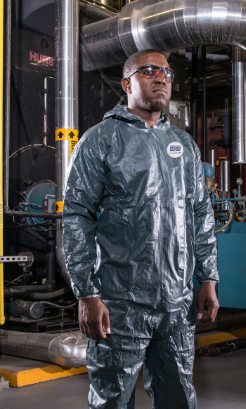 Disposable Protective Clothing for Fire, Flame & Sparks