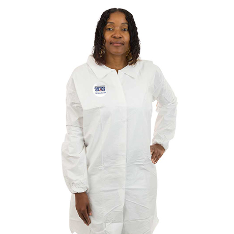 MicroGuard CE Dispsoable Lab Coat for Controlled Environments